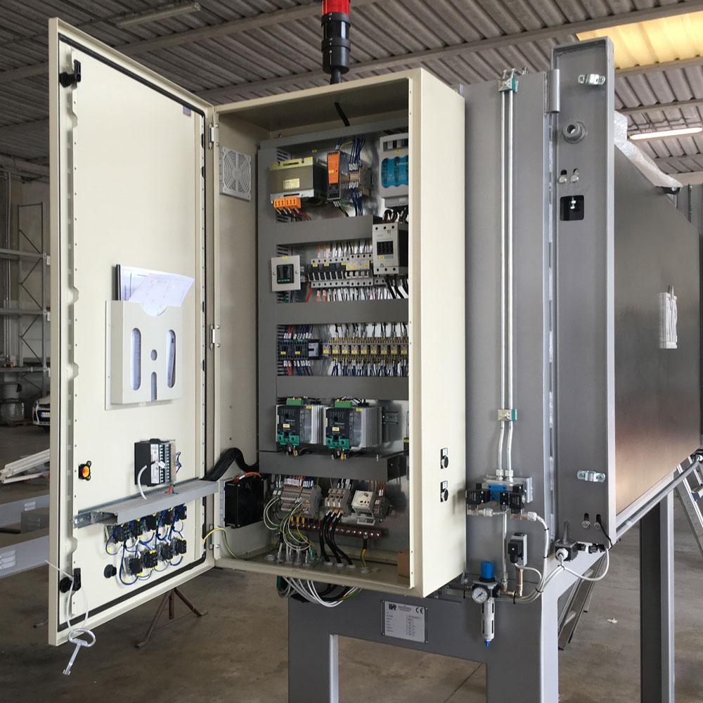 Schemi Elettrici Quadri Automazione : Realizzazioni quadri elettrici per l automazione ivr